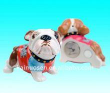 Handmade Ceramic Dog Design Fridge Magnets