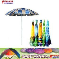 beach umbrella steel ribs