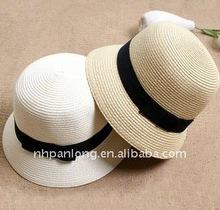 2012 hot sale popular Beach hats&new design straw hat &Hot sale hats bowknot