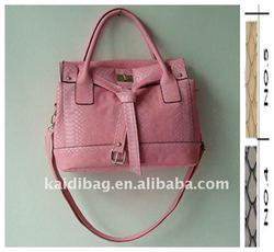 KD11274 Hot sale lady croco embossed new handbag