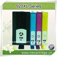 Refillable printer ink cartridge for hp 920B/C/M/Y XL