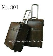 2012 fashion trolley case upright luggage case