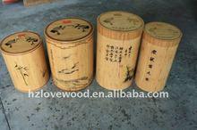 Bamboo Rice Barrel