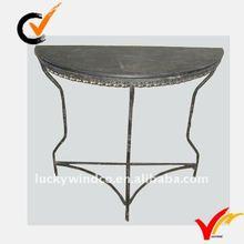 Half moon console table