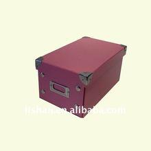 decorative cardboard photo storage boxes