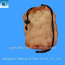 polyester mesh bags drawstrings