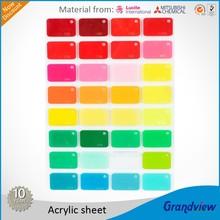 color Acrylic Glass sheet