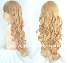 Synthetic Kanekalon Pink Cosplay Wig