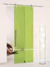 Interior glass sliding door&frameless glass sliding door