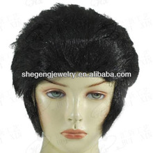 Elvis Teddy Boy 50s Rock Men Costume Wig