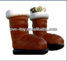 PVC inflatable boot christmas products for sale