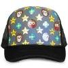 new style fashion golf flat trucker mesh cap