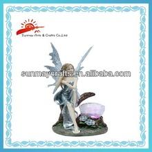 Polyresin Fairy figurine for home decoration