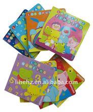 Eco-friendly child book printing/board book