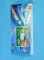 dental floss + tongue cleaner