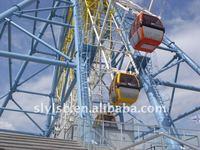 62m panoramic sightseeing ferris wheel giant wheel