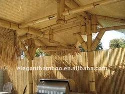 bamboo tiki huts