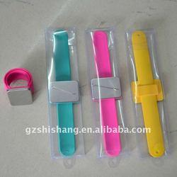 2011new rubber bracelet magnet;silicone magnetic bracelet fashion