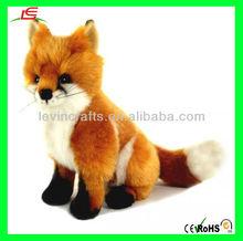 LE-D385 Realistic Stuffed Fox Plush Toy