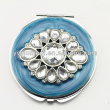 compact make up mirror& cosmetic mirror with big acrylic