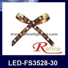 2012 New non waterproof SMD3528 led flexible strip 6v