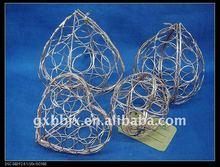 Peach metal wire festival handicraft decoration art