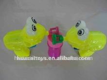 bubble gun toy frog
