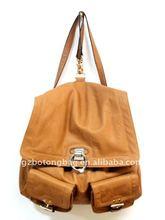 fashion ladies backpack travel bag 2012