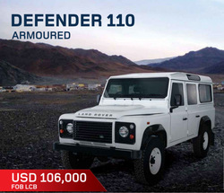 Land Rover Defender 110 Armored Vehicle