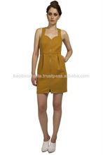 2015 SpringSummer Women's fashion Sexy Zipperd Front Bodycon Mini Dress