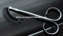 German Stainless Steel New Ribbon Series Scissor for Eyelash/ Blunt Pointed Eyelash Extension Scissors/ Eyelash Tools