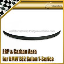 For BMW E82 2 Door Coupe E88 2 Door convertible 1-Series Carbon Fiber Performance Style Rear Spoiler