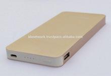 Hot New Cell Phone Shape With Aluminium Alloy Body Power Bank 8000mAh Power Bank