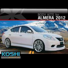 KOSHI Sport Body kit for Nissan Almera 2012