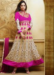 Fabulous Pink Anarkali Salwar Kameez