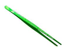 Reptile Feeding Supplies - Green Tweezers - 10 Inch