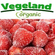 Organic Fozen IQF Strawberries