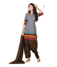 Unstitched Punjabi Suits /Printed punjabi suit