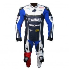 Jorge Lorenzo Yamah Motorcycle Leather Racing Suit,one piece and two piece motorbike racing suit Auto Moto suit