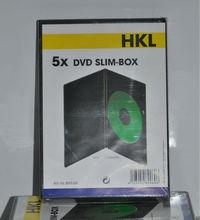 DVD storage cases packs of 5