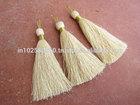 jewelry making tassel Boho tassel Zari gold thread