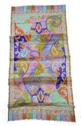 Hippy, Hippie print shawls