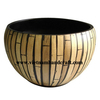 Best quality eco-friendly handcrafted Vietnamese coiled bamboo fruit baskets