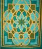 colourful acrylic blankets