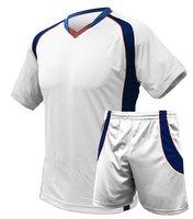 OFC Super Dry Fit T-Shirt & Short - White / Royal Blue