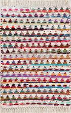 Cotton Diamond Rag Rug