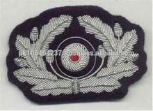 GERMAN ARMY OFFICERS CAP WREATH CAP INSIGNIA
