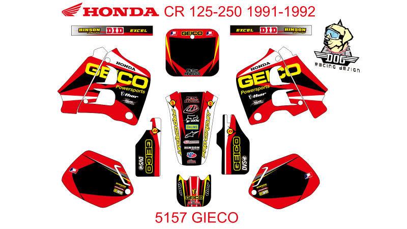 Stickers 125 cr cr 125-250 1991-1992 No.5157