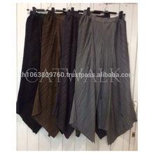 Japanese Fabric Pleat Pants