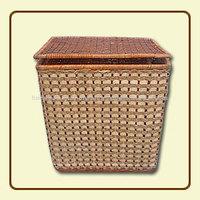 Large Rectangular Storage Laundry Basket with lid